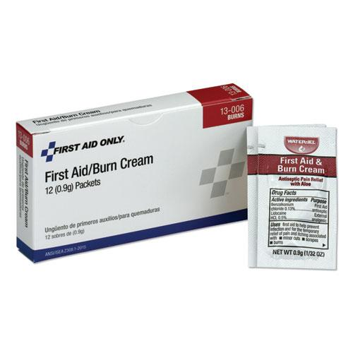 First Aid Kit Refill Burn Cream Packets, 12/Box. Picture 1