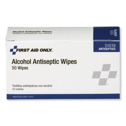 First Aid Alcohol Pads, 50/Box. Picture 4