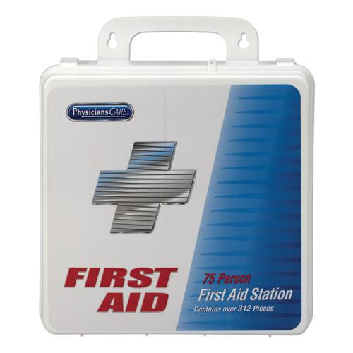 Office First Aid Kit, for Up to 75 people, 312 Pieces/Kit. Picture 2