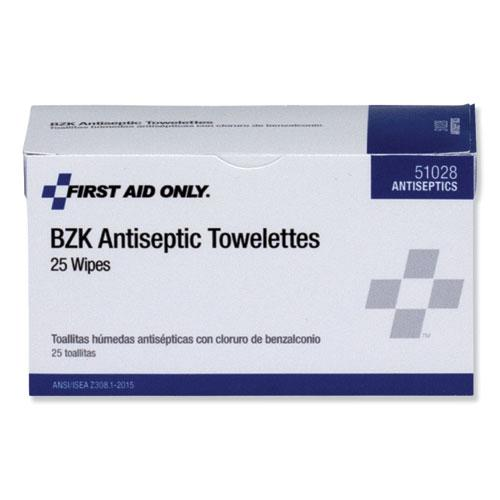 First Aid Antiseptic Towelettes, 25/Box. Picture 2