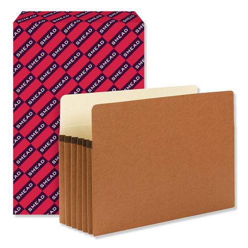 """Redrope Drop Front File Pockets, 5.25"""" Expansion, Legal Size, Redrope, 50/Box. Picture 3"""