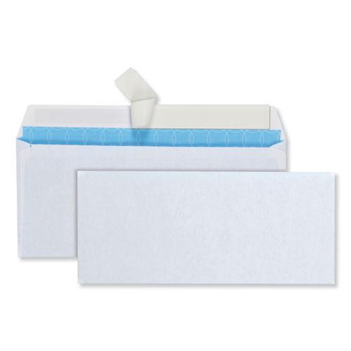 Security Envelope, #10, Commercial Flap, Redi-Strip Closure, 4.13 x 9.5, White, 500/Box. Picture 1