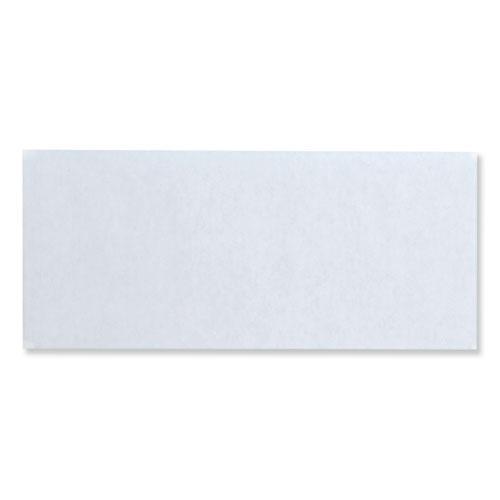 Security Envelope, #10, Commercial Flap, Redi-Strip Closure, 4.13 x 9.5, White, 500/Box. Picture 2