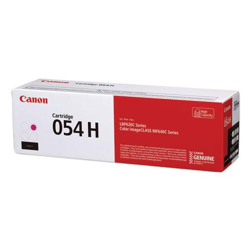 3026C001 (054H) High-Yield Toner, 2,300 Page-Yield, Magenta. Picture 1