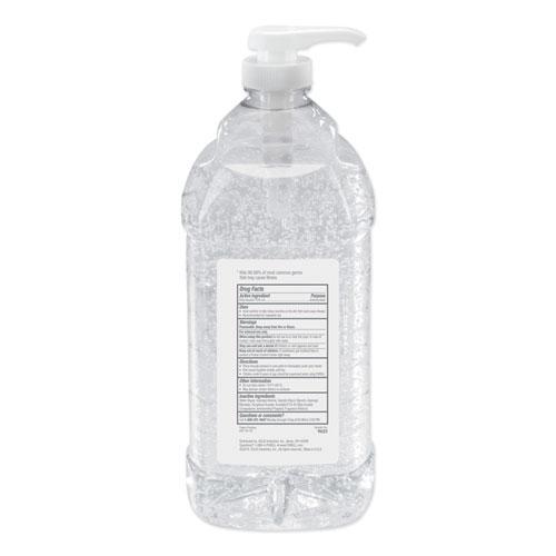 Advanced Hand Sanitizer Refreshing Gel, Clean Scent, 2 L Pump Bottle, 4/Carton. Picture 3