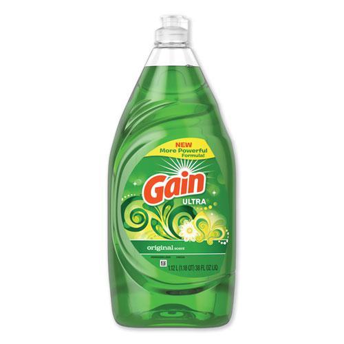 Dishwashing Liquid, Gain Original, 38 oz Bottle. Picture 1