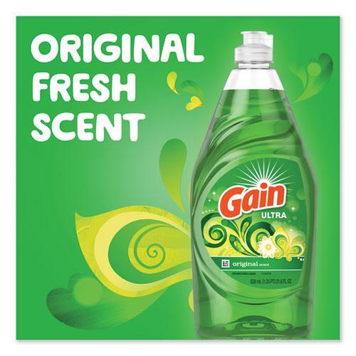 Dishwashing Liquid, Gain Original, 38 oz Bottle. Picture 3