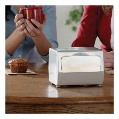 """Advanced Soft Minifold Dispenser Napkins, 1-Ply,13"""" x 12"""", White, 6000/CT. Picture 4"""