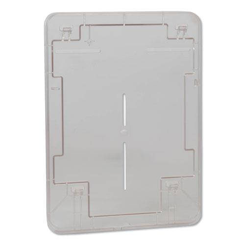 Washstation Dispenser, 12.56 x 10.57 x 18.09, Red/Smoke. Picture 8