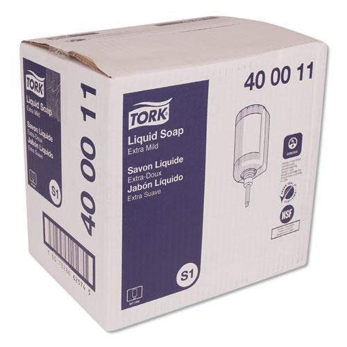 Premium Extra Mild Liquid Soap, Unscented, 1 L, 6/Carton. Picture 2