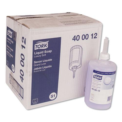 Premium Luxury Soap, Soft Rose, 1 L, 6/Carton. Picture 1