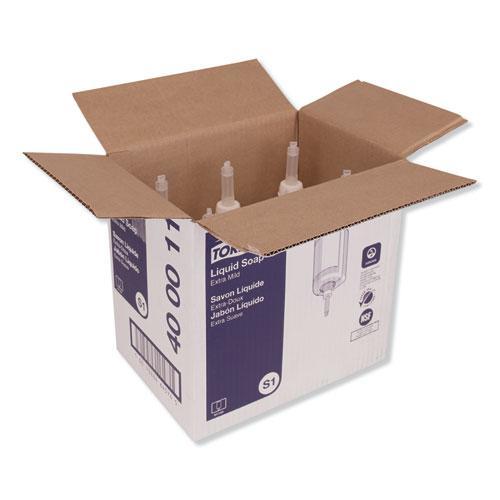 Premium Extra Mild Liquid Soap, Unscented, 1 L, 6/Carton. Picture 3