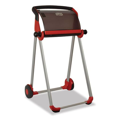 Performance Floor Stand, 25.43 x 39.61 x 20.87, Red/Smoke. Picture 4