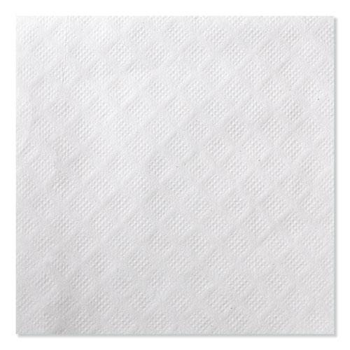 Universal Beverage Napkin, 1-Ply,9.125x9.125, 1/4 Fold,Poly-Pack,White, 4000/CT. Picture 3