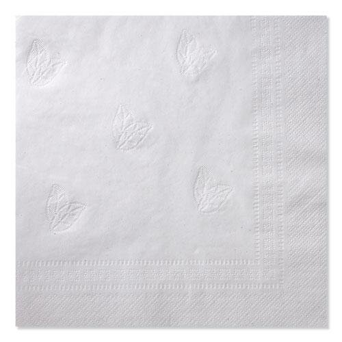 """Advanced Dinner Napkins, 2-Ply, 15"""" x 16.25"""", White, 375/Pack, 8 Packs/Carton. Picture 4"""