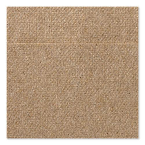 "Universal Masterfold Dispenser Napkins, 1-Ply, 13"" x 12"" Natural, 6000/CT. Picture 4"
