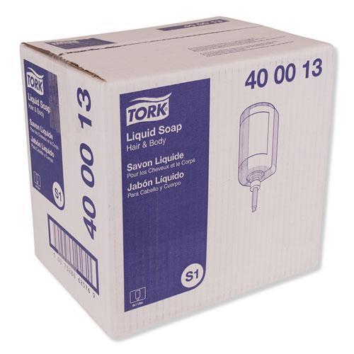 Premium Hair and Body Soap, Apricot, 1 L, 6/Carton. Picture 2