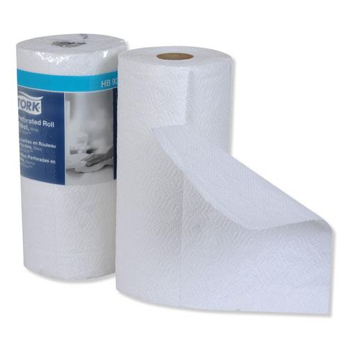 Handi-Size Perforated Roll Towel, 2-Ply, 11 x 6.75, White, 120/Roll, 30/CT. Picture 7