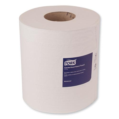 Advanced Centerfeed Hand Towel, 2-Ply, 8.25 x 11.8, White, 610/Roll, 6/Carton. Picture 3