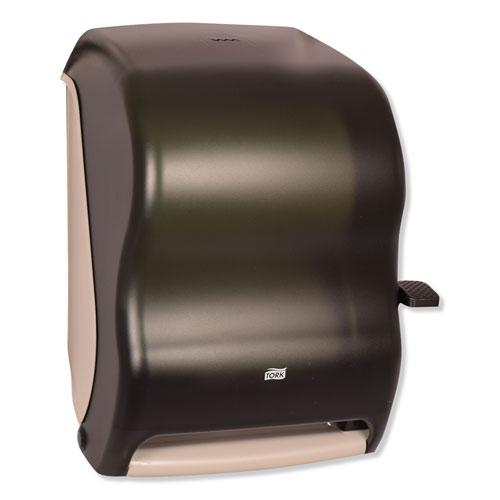 Hand Towel Roll Dispenser, 12 15/16 x 9 1/4 x 15 1/2, Smoke. Picture 6