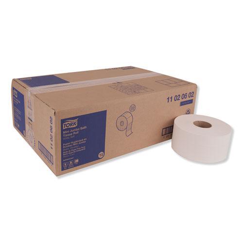 "Advanced Jumbo Bath Tissue, Septic Safe, 2-Ply, White, 3.48"" x 751 ft, 12 Rolls/Carton. Picture 1"