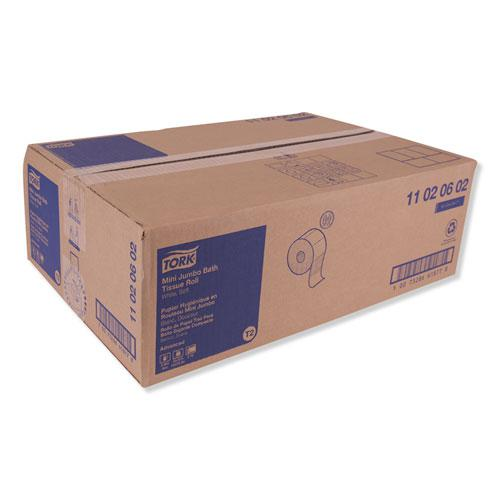 "Advanced Jumbo Bath Tissue, Septic Safe, 2-Ply, White, 3.48"" x 751 ft, 12 Rolls/Carton. Picture 4"