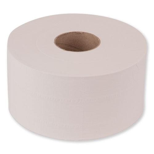 "Advanced Jumbo Bath Tissue, Septic Safe, 2-Ply, White, 3.48"" x 751 ft, 12 Rolls/Carton. Picture 7"