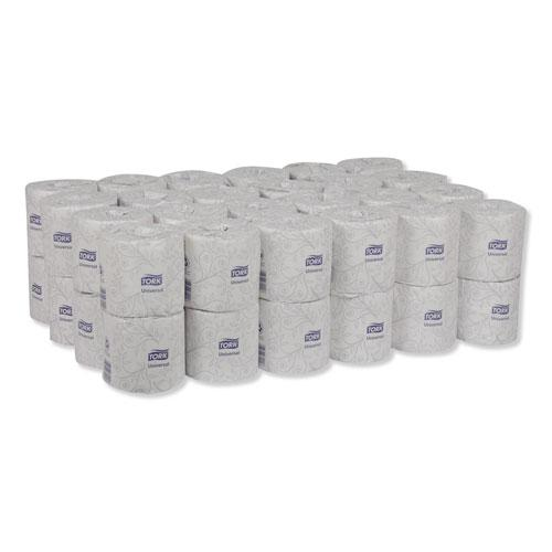 Universal Bath Tissue, Septic Safe, 2-Ply, White, 420 Sheets/Roll, 48 Rolls/Carton. Picture 7