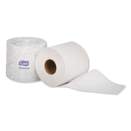 Universal Bath Tissue, Septic Safe, 2-Ply, White, 420 Sheets/Roll, 48 Rolls/Carton. Picture 4
