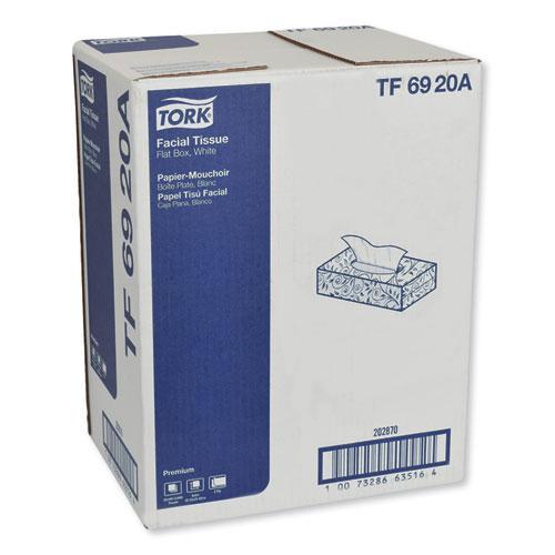 Premium Facial Tissue, 2-Ply, White, 100 Sheets/Box, 30 Boxes/Carton. Picture 2