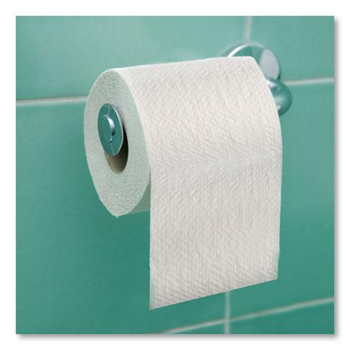 Universal Bath Tissue, Septic Safe, 2-Ply, White, 420 Sheets/Roll, 48 Rolls/Carton. Picture 8