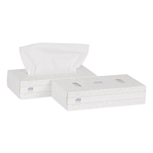 Premium Facial Tissue, 2-Ply, White, 100 Sheets/Box, 30 Boxes/Carton. Picture 3