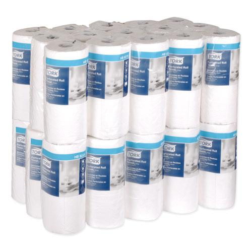 Handi-Size Perforated Roll Towel, 2-Ply, 11 x 6.75, White, 120/Roll, 30/CT. Picture 6