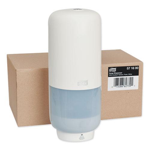 Elevation Foam Skincare Auto Dispenser with Intuition Sensor, 1 L/33 oz, 4.45 x 5.12 x 10.94, White, 4/Carton. Picture 2