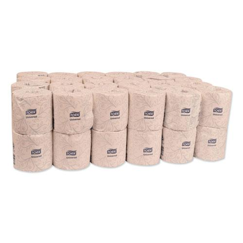 Universal Bath Tissue, Septic Safe, 2-Ply, White, 500 Sheets/Roll, 48 Rolls/Carton. Picture 6