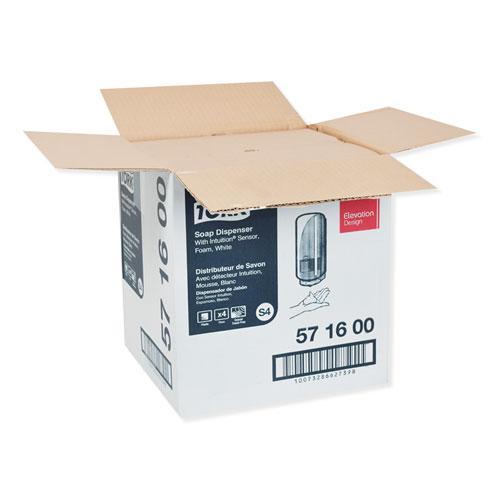 Elevation Foam Skincare Auto Dispenser with Intuition Sensor, 1 L/33 oz, 4.45 x 5.12 x 10.94, White, 4/Carton. Picture 9