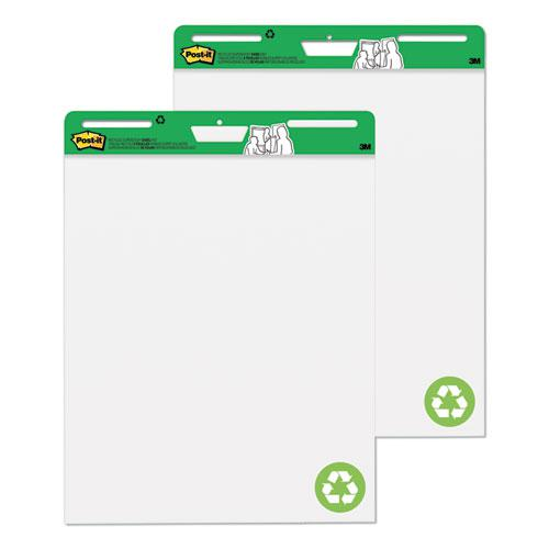 Self-Stick Easel Pads, 25 x 30, White, 30 Sheets, 2/Carton. Picture 1