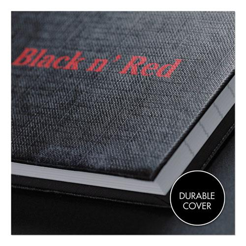 Casebound Notebooks, Wide/Legal Rule, Black Cover, 11.75 x 8.25, 96 Sheets. Picture 3