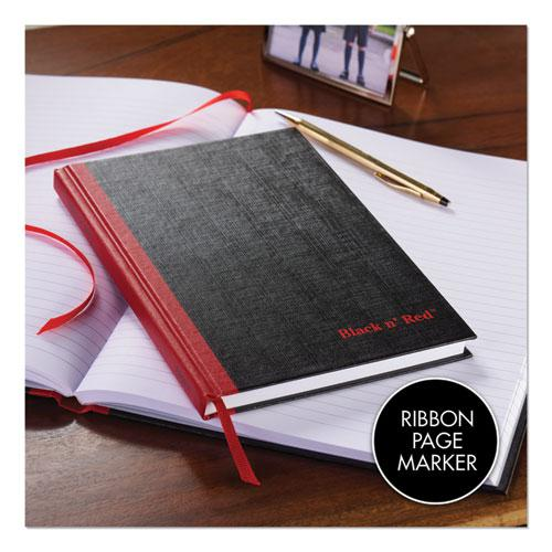 Casebound Notebooks, Wide/Legal Rule, Black Cover, 11.75 x 8.25, 96 Sheets. Picture 6