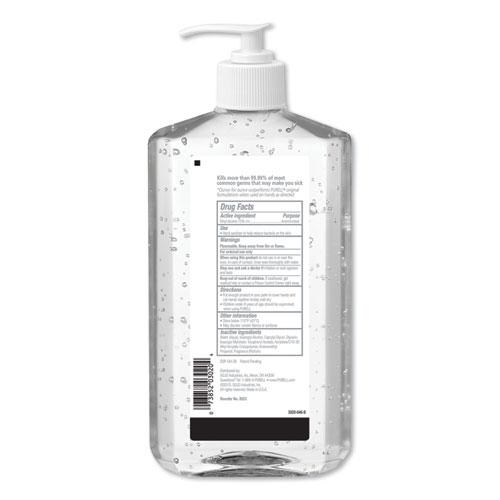 Advanced Hand Sanitizer Refreshing Gel, Clean Scent, 20 oz Pump Bottle, 12/Carton. Picture 4