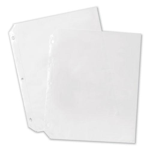 Top-Load Poly Sheet Protectors, Heavy Gauge, Letter, Nonglare, 100/Box. Picture 4