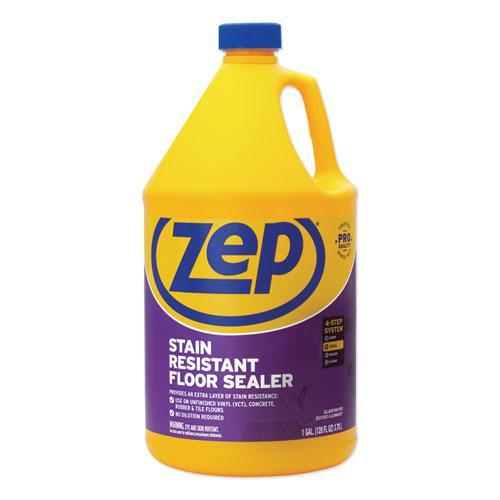 Stain Resistant Floor Sealer, 1 gal Bottle. Picture 1