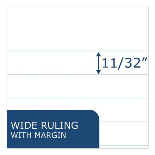 Examination Blue Book, Wide/Legal Rule, 8.5 x 7, White, 4 Sheets. Picture 2