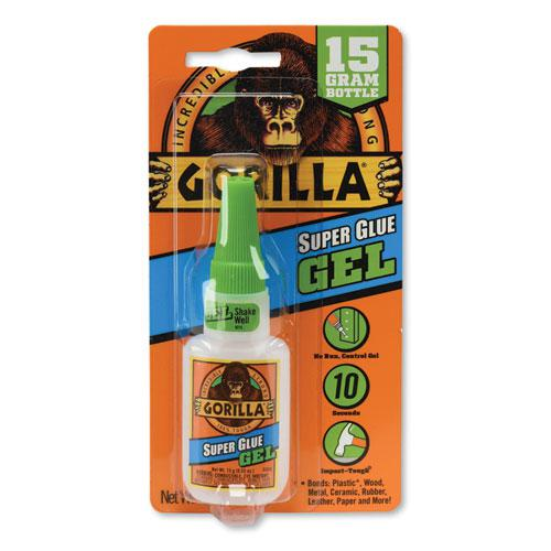 Super Glue Gel, 0.53 oz, Dries Clear, 4/Carton. Picture 1