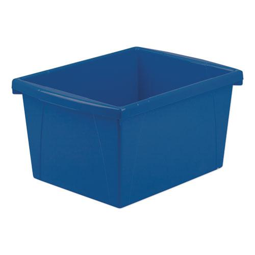 """Storage Bins, 4 gal, 10"""" x 12.63"""" x 7.75"""", Randomly Assorted Colors. Picture 2"""