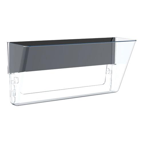 Unbreakable Magnetic Wall File, Letter/Legal, 16 x 7, Single Pocket, Clear. Picture 1
