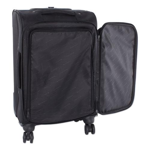 "Purpose Business Carry On, Holds Laptops 15.6"", 11"" x 11"" x 22"", Black"