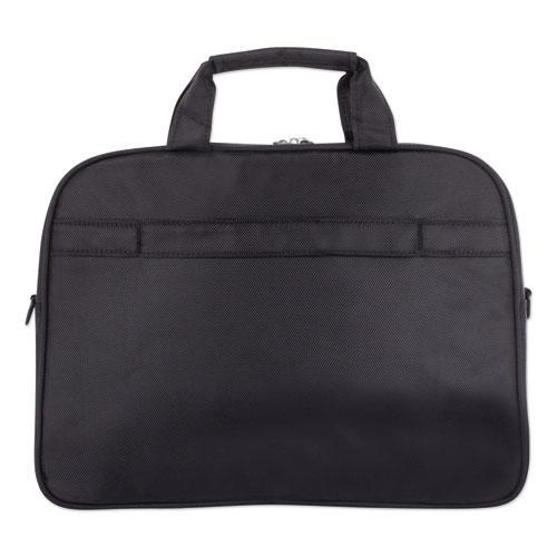 "Purpose Slim Executive Briefcase, Hold Laptops 15.6"", 2.5"" x 2.5"" x 12"", Black. Picture 3"