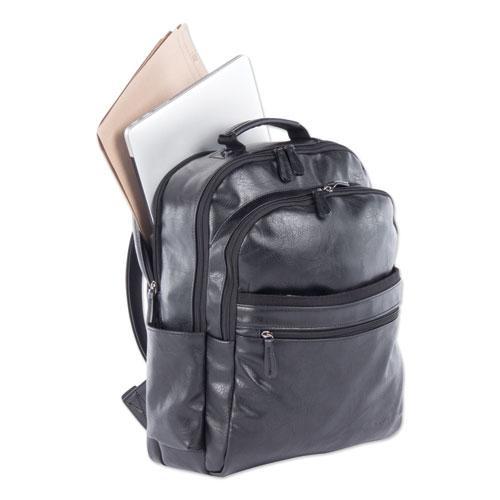 "Valais Backpack, Holds Laptops 15.6"", 5.5"" x 5.5"" x 16.5"", Black"
