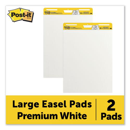 Self-Stick Easel Pads, 25 x 30, White, 30 Sheets, 2/Carton. Picture 4
